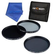 40.5mm ND2 ND4 ND8 Neutral Density ND Lens Filter Kit For Samsung NX1100 Camera