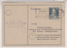 All.Bes./Gemeinsch.Ausg. GA-P 965, OrtsPK Bln-Charlottenburg,18.9.47, MWS Vorsic