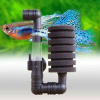 Aquarium Tank Bio Sponge Filter Suction Wall Mounted Water Filter 10-gallon