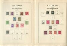Germany Stamp Collection 1945-49 on 27 Lighthouse Pages, Allied Zone, DKZ