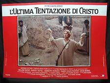 FOTOBUSTA CINEMA - L'ULTIMA TENTAZIONE DI CRISTO - W. DAFOE - 1988 -RELIGIOSO-05