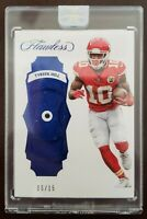 6/15 Tyreek Hill 2017 Panini FLAWLESS SAPPHIRE Kansas City Chiefs