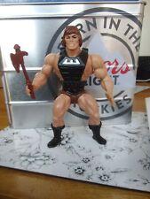 Masters of the Universe Wonder bread savage brown hair He-Man Vintage CUSTOM