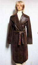 """FEMMES JE VOUS AIME PARIS - """"MELISSA"""" - Long Trench Belted Dress Coat - Size 2"""