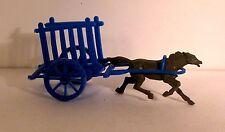 figurine publicitaire Bonux? - chariot tracté court-  vintage