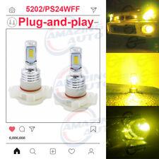 5202 PS24WFF LED Fog Lights Bulbs Professional Kit Lamp 90W 9150LM 3000K Yellow