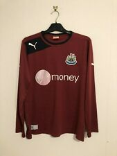 Newcastle United Away Shirt 2012/13 12 13 Small S Long Sleeve L/S LS