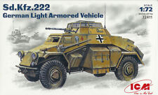 ICM 1/72 (20mm) Sd Kfz 222 Light Armoured Car