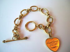 JUICY COUTURE GOLD TONE ROYAL CHARM STARTER BRACELET