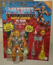 Masters of the Universe Battle Armor HE-MAN Deluxe figure set MOTU New 2021