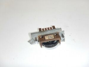 Interior Switches Controls For 1992 Jeep Wrangler For Sale Ebay