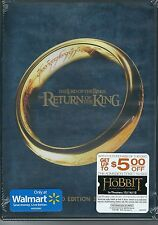 #5 LORD OF THE RINGS RETURN OF KING New Sealed Extended DVD Set FREE SHIPPING