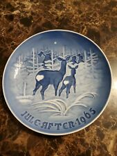 1965 Collector Plates Annual Christmas Plate