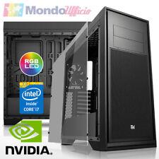 PC WORKSTATION GAMING Intel i7 8700K - Ram 32 GB - 2 TB - SSD - nVidia GTX 1070