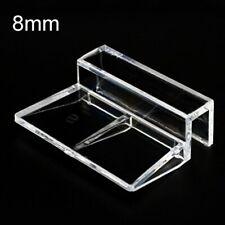 4,6 Pcs Acrylic Clips Aquarium Fish Tank Glass Cover Clip Support Lid Holder 8mm