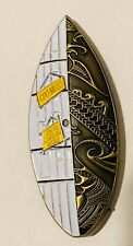Sought After-The Pacific Chiefs-Hawaiian Surfboard-Navy Chief/CPO Challenge Coin