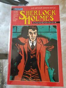 Sherlock Holmes Casebook 1 Eternity Comic NM +