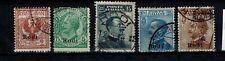 Briefmarken Ägäische Inseln 3-4 + 6-8 X gestempelt