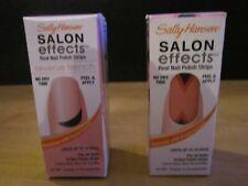 Sally Hansen Salon Effects Real Nail Polish Strips-Lot of 2 Kinds-#002 /#510