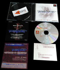 VAGRANT STORY playstation PSX Play Station PS1 JAPONES Square