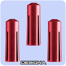 Designa Defenders Dart Flight Protectors - Aluminium Red