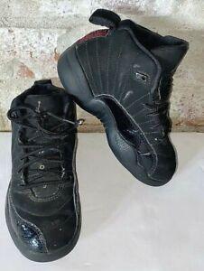 Nike Air Jordan 12 Retro Black Pink Basketball Shoes 510816 006 Child Size 11C