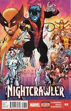 Nightcrawler #8 (NM) `15 Claremont/ Nauck