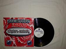 """Fabietto DJ – Fantasy Is Creation – Disco MAXI 12"""" Vinile ITALIA 1995 Trance"""