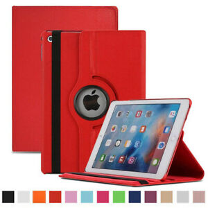 Leather Shockproof iPad Cover 360 Flip Case New for iPad 2/3/4 Air/2  Mini 2/3/4