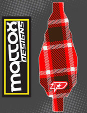 ONE Team Associated B6/B6d 1:10 12MIL INDOOR Chassis Skin Rc Car-Red Plaid
