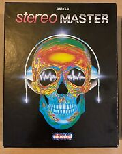 Stereo Master by Microdeal - Sound Sampler 1991 for Commodore Amiga  1st Edition