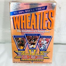 1996 Dallas Cowboys Green Bay Steelers Wheaties Collectors Box Super Bowl 30