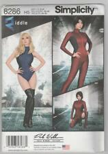 Simplicity Sewing Pattern 8286 Miss Knit & Woven Jumpsuit & Leotard Costume 6-14