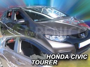 mit ABE Tiefschwarz 4erSet ab 2017 ClimAir Windabweiser Honda Civic Typ FC Lim