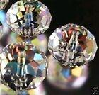 Hot sell 70pcs Swarovski Crystal Loose Beads 6X8mm Black A18