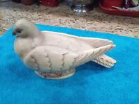 Vintage Haeger  Pottery USA Dove statue #649