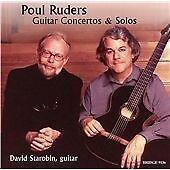 Poul RUDERS Guitar Concertos & Solos CD BRIDGE David Starobin Speculum Musicae