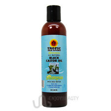 Tropic Isle Living Jamaican Black Castor Oil Shampoo 8oz with FREE nail file