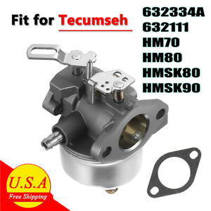 Carb Carburetor for Tecumseh Engine Snow Blower Craftsman Toro Troybilt Gasket
