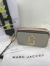 Marc Jacobs Snapshot Small Camera Bag Dust Multi-Colour/Logo  CrossbodyD