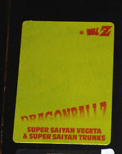 DRAGON BALL Z DBZ SUPER SAYAN BATTLE GOLD VEGETA CARD CARTE 1181 JAPAN 1995 ** §