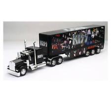 Newray 1/32 Scale Kenworth W900 KISS Rock Band Semi Truck & Trailer 12453