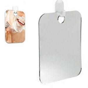 Anti Fog Shower Mirror Bathroom Fogless Fog Free Mirror Washroom Travel Useful