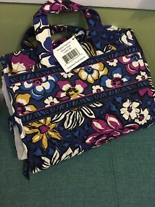 Vera Bradley Hanging Organizer African Violet Travel NWT Exact Item MSRP $48