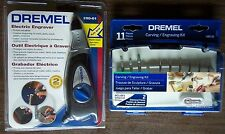 Dremel Electric Engraver 290-01 & 11pc Engraving/Carving Kit 689-01 NIB Unused