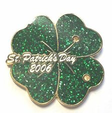 Disney Pin Badge St. Patrick's Day 2006 Four Leafed Clover