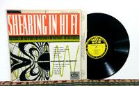 George Shearing Quintet, Shearing In Hi Fi, LP 1955 - Bop, Cool Jazz - EX Vinyl