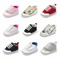 Newborn Baby Boy Girl Pram Shoes Casual Shoes Child Sports Pre Walking Trainers