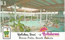 Sioux Falls Holiday Inn Holidome Swimming Pool 1970 SD