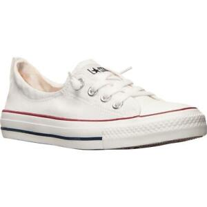 Converse Womens CT Shoreline SL White Sneakers Shoes 7 Medium (B,M) BHFO 8556